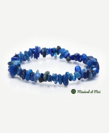 Bracelet Cyanite Bleue - Baroque