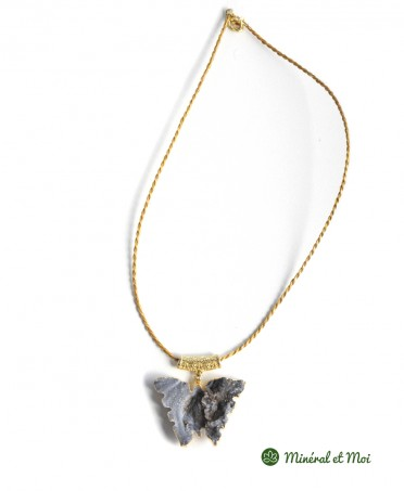 Collier Papillon Agate n°9