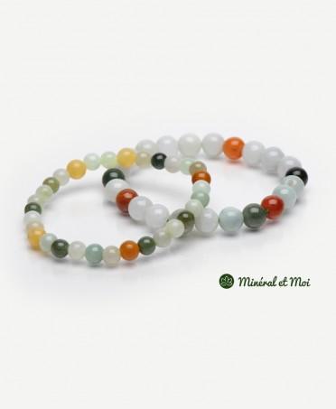 Bracelet Jade de Birmanie - 6mm