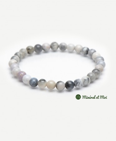 Bracelet Opale Dendritique - 8mm