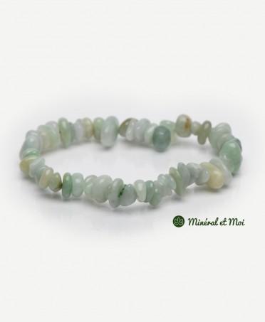 Bracelet Jade de Birmanie - Baroque