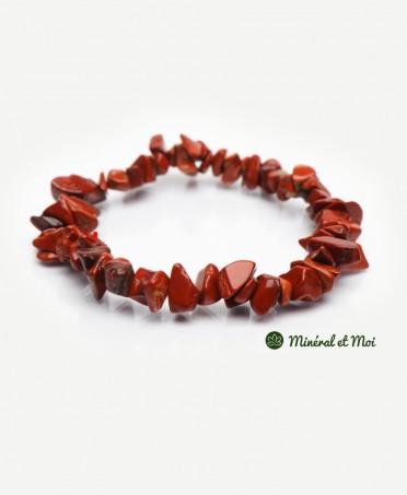 Bracelet Jaspe Rouge - Baroque