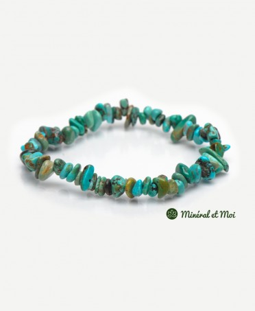 Bracelet Turquoise Du Tibet - Baroque
