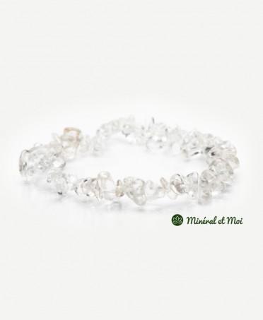Bracelet Cristal de Roche - Baroque