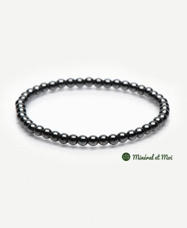 Bracelet Hématite - 4mm