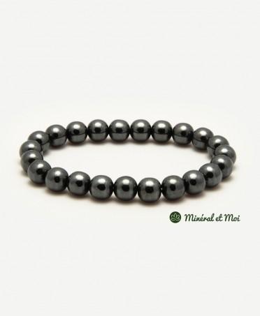 Bracelet Hématite - 6mm
