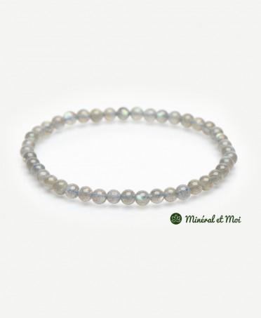 Bracelet Labradorite - 4mm