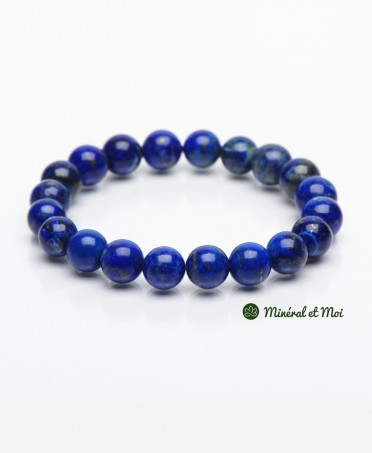 Bracelet Lapis Lazuli - 10mm