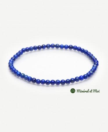 Bracelet Lapis Lazuli - 4mm