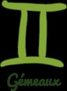 icône gemeaux